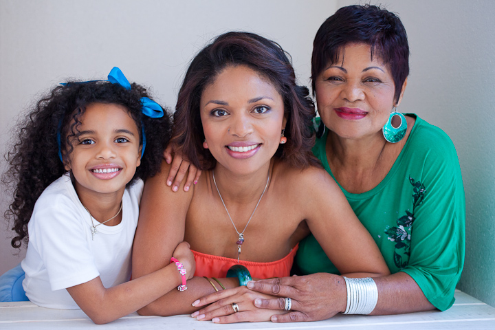 Beauty Shoot | Letishia's Mother-Daughter Shoot