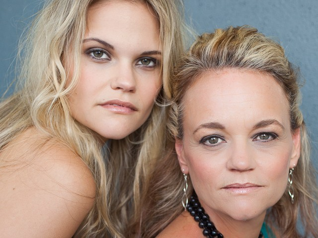 Mother-Daughter Beauty Shoot | Lindy & Kirstie