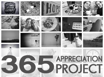 What I've learnt from my 365 Appreciation Project