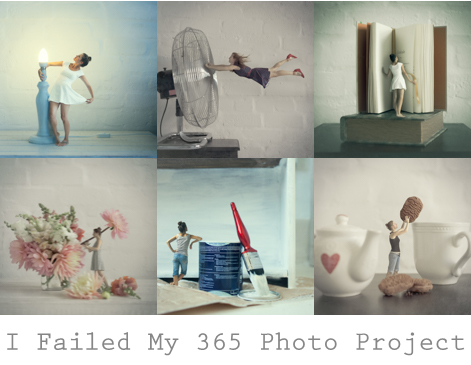 I failed my 365 photo project and this is what I learned.