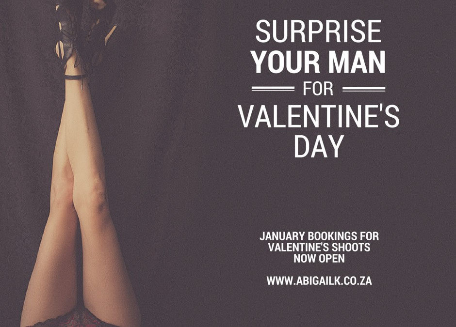 Current Special: Secret Sexy Valentine's Portrait Shoot Special