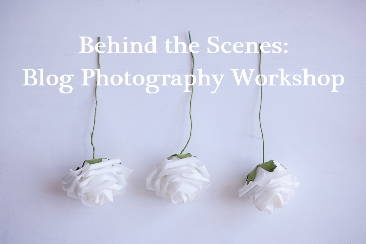 Behind the Scenes: June's Blog Photography Workshop