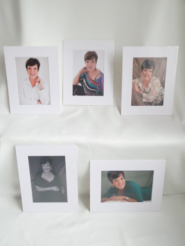 printed and matted mounted womens portraits cape town