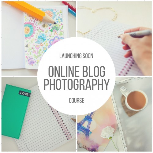 online blog photography course - photography basics for bloggers, online store owners and solopreneurs