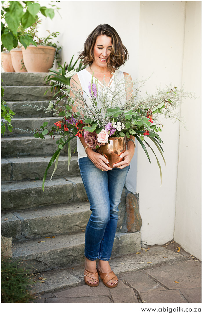 Personal Branding Images for Cape Town Florist Bella Flowers by Cape town Photographer Abigail K