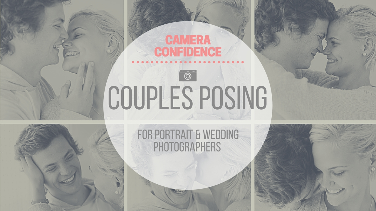 Couple's posing system for portrait and wedding photographers
