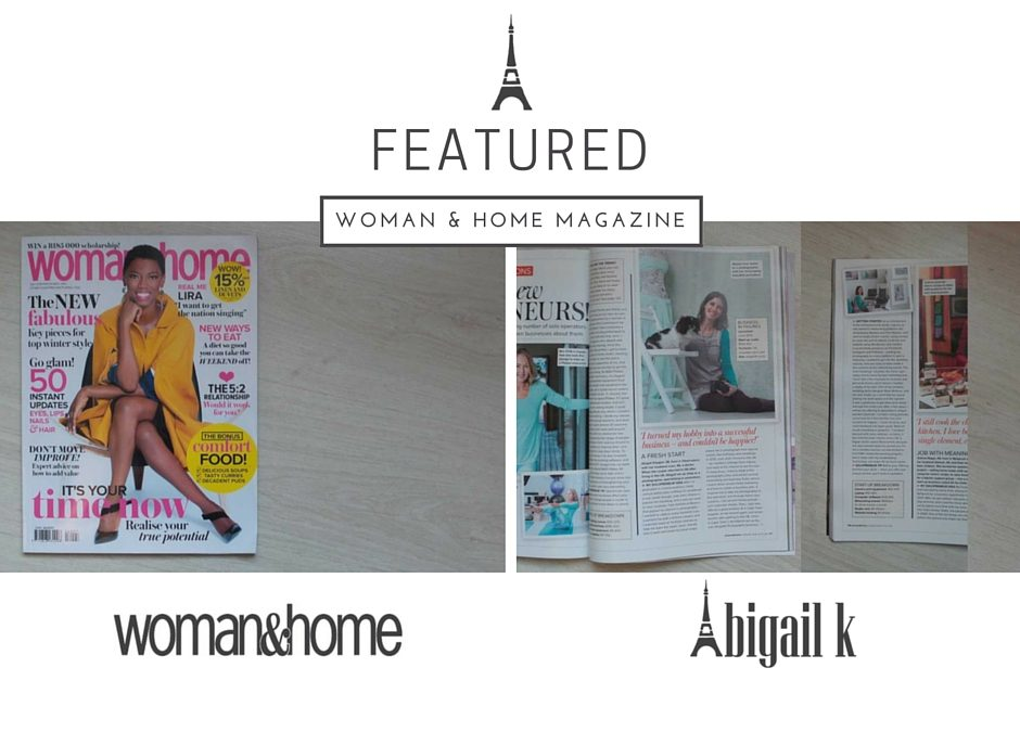 Featured: Woman & Home Magazine