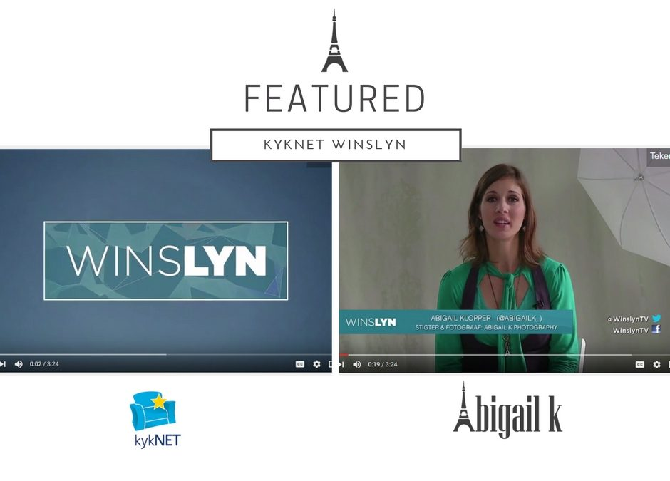 Featured: Abigail K Photography on Winslyn Kyknet TV