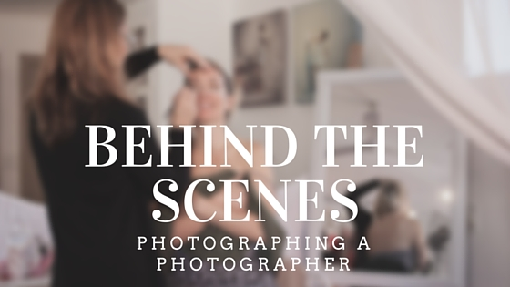 Behind the scenes of photographing a photographer
