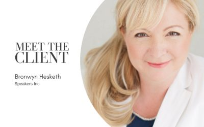 Meet The Client…Bronwyn Hesketh | Speakers Inc