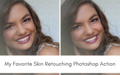 My Favorite Skin Retouching Photoshop Action – Sleek Lens