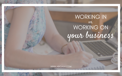 Working ON Your Business vs. IN Your Business – Featured: Your Business Magazine