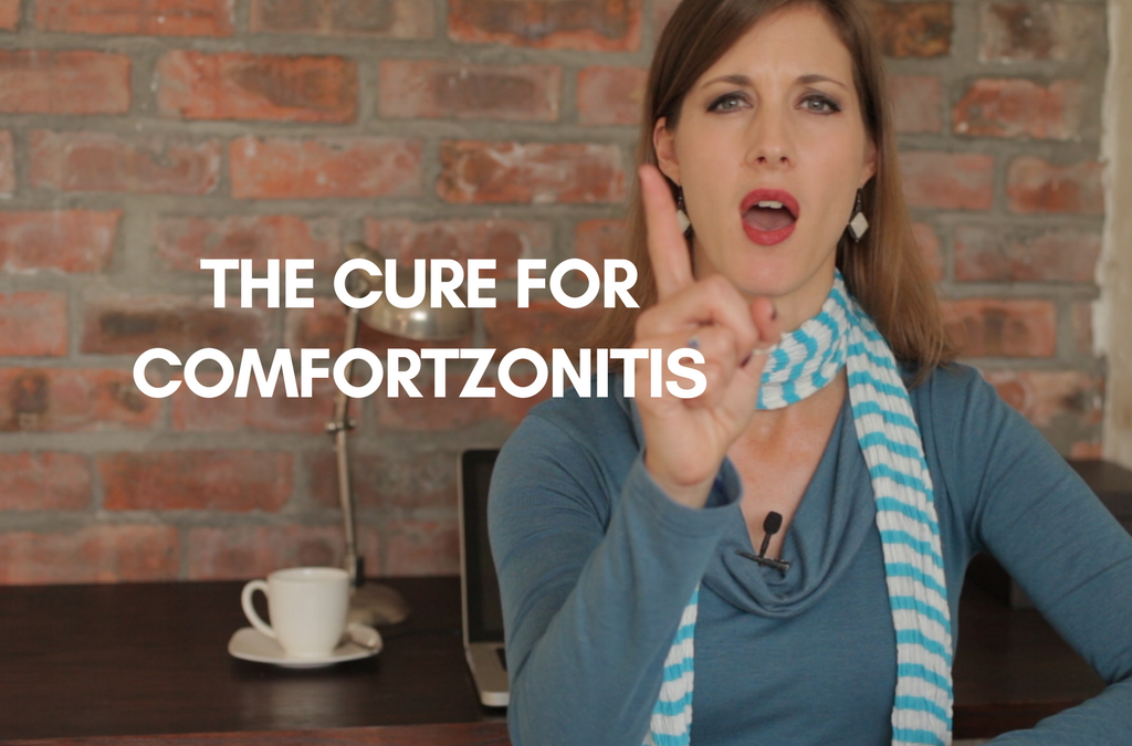 [video] The Cure for Comfortzonitis