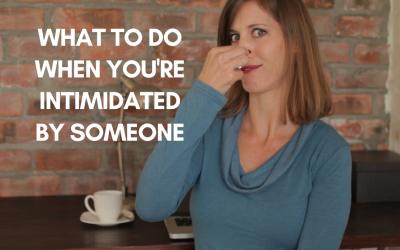 [video] What to do when you're intimidated by someone