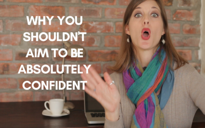[video] Why You Shouldn't Aim To Be Absolutely Confident