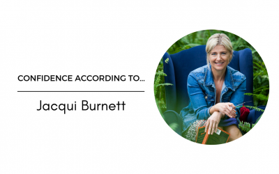 Confidence According To… Jacqui Burnett