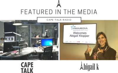 In The Media: Cape Talk Radio & A Lesson I Learned