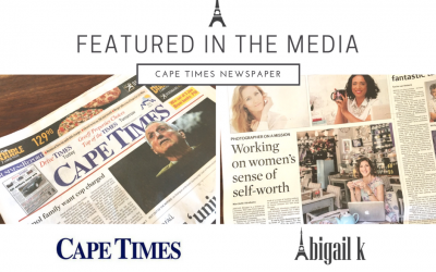 Featured in the Media: Cape Times Newspaper