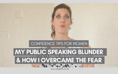 [video] Confidence For Women | My Public Speaking Blunder & How I Overcame the Fear