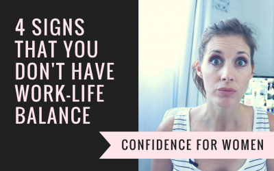 [video] 4 Signs that you don't have work-life balance