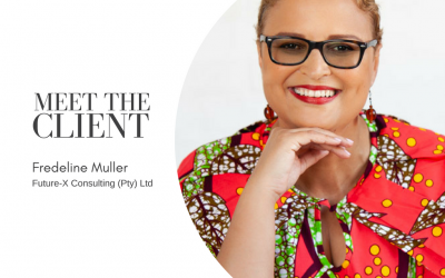 Meet The Client…Fredeline Muller | Future-X Consulting (Pty) Ltd