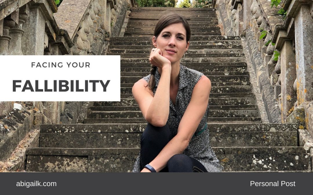 Facing Your Fallibility