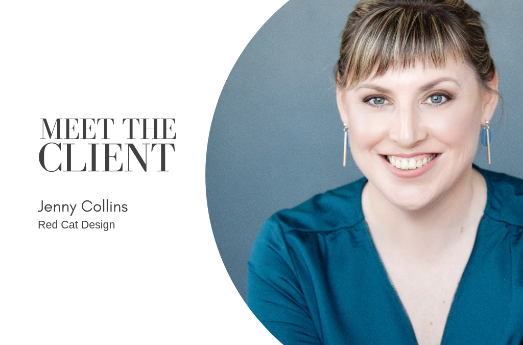 Meet The Client…Jenny Collins | Red Cat Design