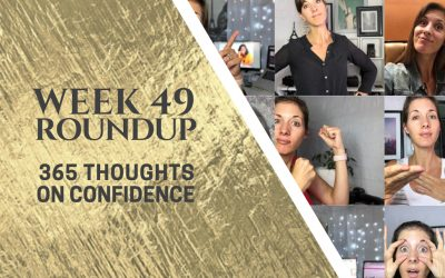Thoughts on Confidence | Week 49 Round Up