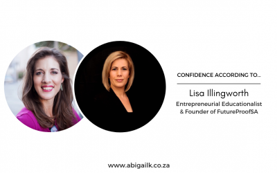 Confidence According To… Lisa Illingworth