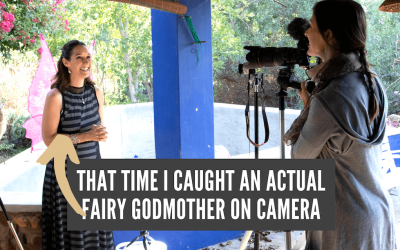 That time I caught an ACTUAL Fairy Godmother on Camera