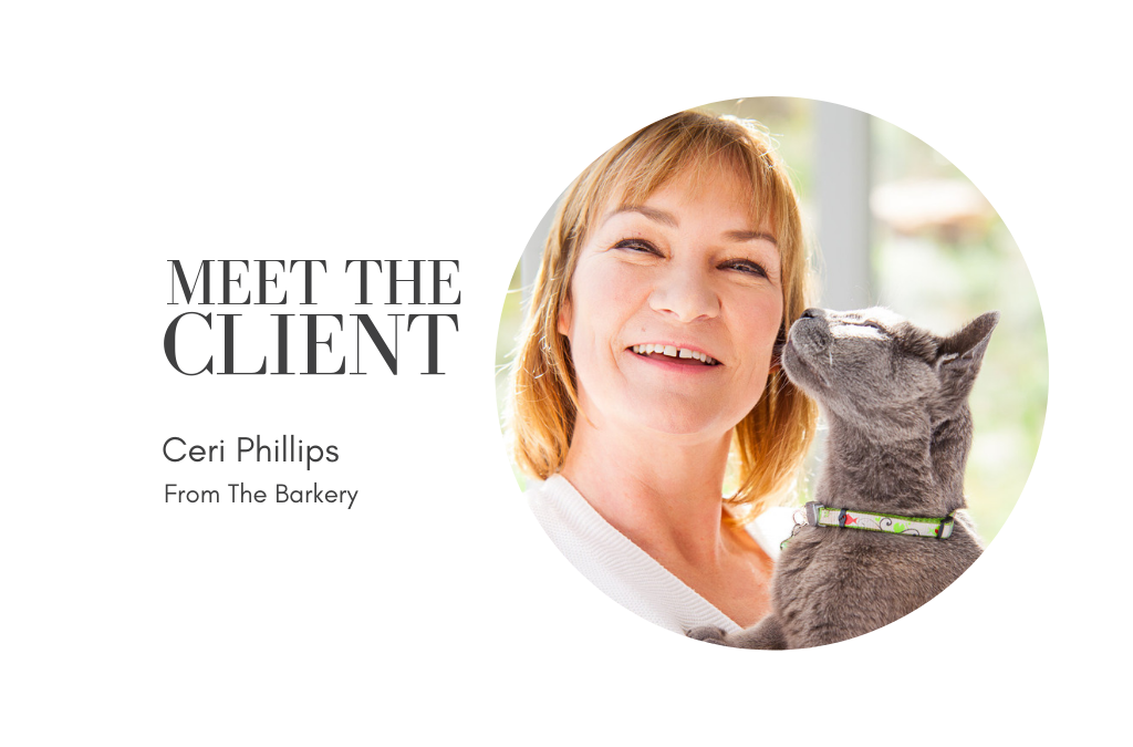 Meet the Client | Ceri Phillips from From The Barkery