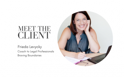 Meet the Client | Frieda Levycky from Braving Boundaries