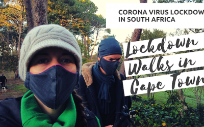 Lockdown Walks in Cape Town – How things have changed!