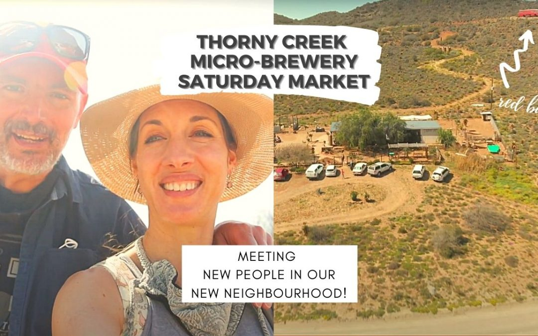 Making New Friends at Thorny Creek Brewery