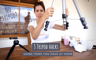 3 Tripod Hacks – Using items you have at home